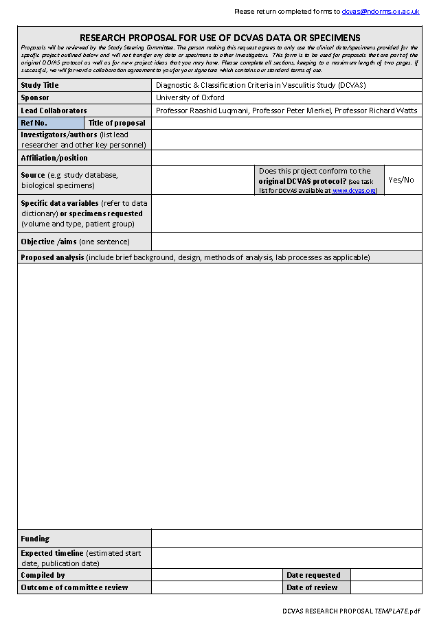 DCVAS Publication Policy · Research Proposal Template ...